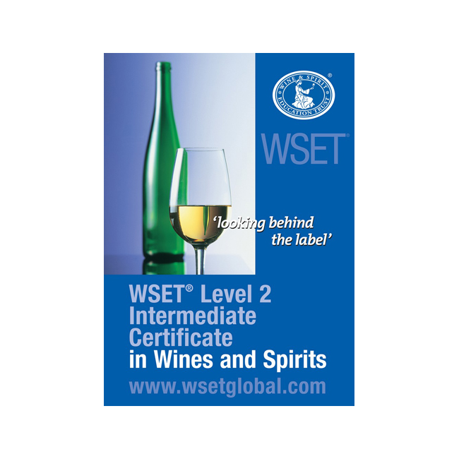WSET Level 2 Intermediate Award in Wine