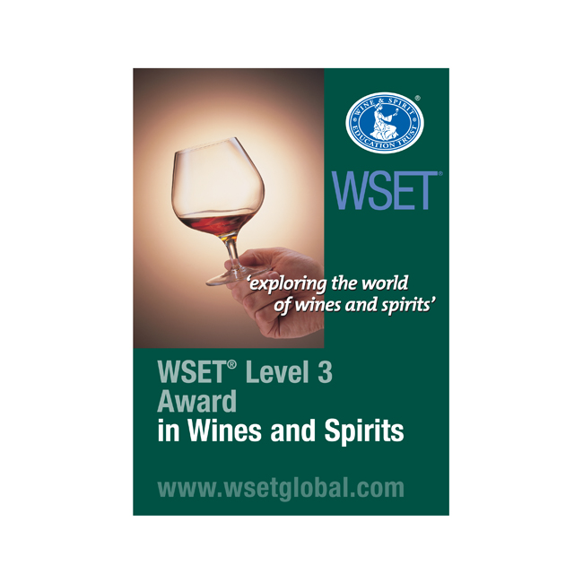 WSET Level 3 Advanced Award in Wines